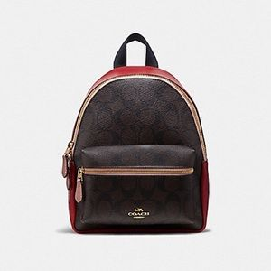 COACH Backpack in Colorblock
